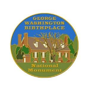 George Washington Birthplace Pin
