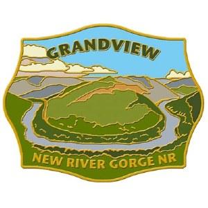New River Gorge National River Grandview Pin