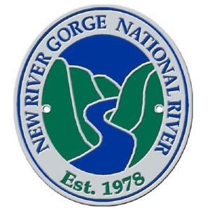 New River Gorge National River Hiking Stick Medallion