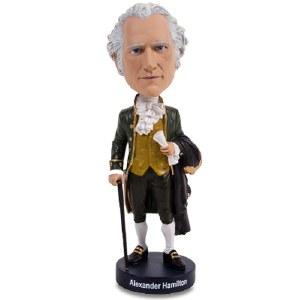 Alexander Hamilton Bobblehead Figurine
