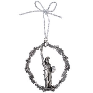 Statue of Liberty Pewter Ornament