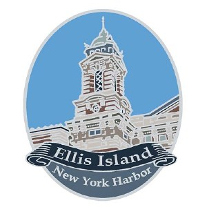 Ellis Island Pin