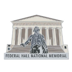 Federal Hall Freedom Pin