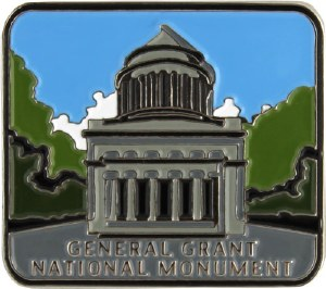 General Grant National Memorial Lapel Pin