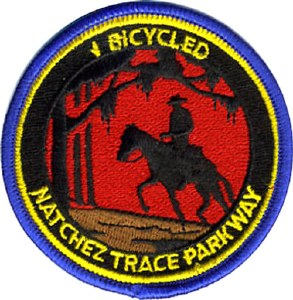 ''I Bicycled Natchez Trace Parkway'' Patch