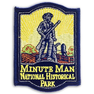 Minute Man National Historical Park Embroidered Patch
