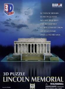 3D Lincoln Memorial Puzzle