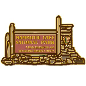 Mammoth Cave Entrance Hiking Medallion