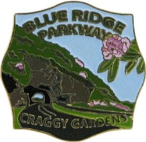 Craggy Gardens, Blue Ridge Parkway Lapel Pin