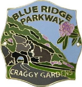 Craggy Gardens, Blue Ridge Parkway Hiking Medallion