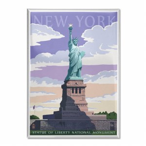 Statue of Liberty Illustrated Magnet