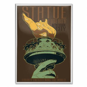 Statue of Liberty Torch Magnet