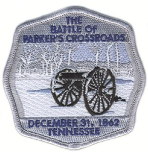 Battle of Parker's Crossroads Embroidered Patch