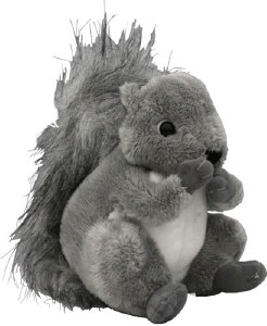Gray Squirrel Plush