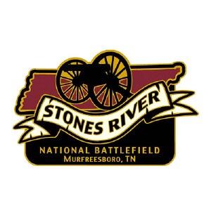 Stones River Cannon Pin