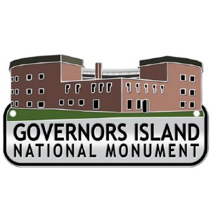 Governors Island Hiking Medallion
