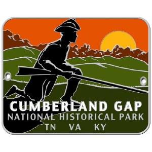 Cumberland Gap National Historical Park Hiking Stick Medallion