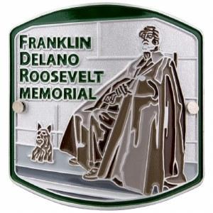 Franklin Delano Roosevelt Memorial Hiking Medallion