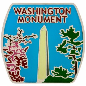 Washington Monument Pin