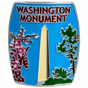Washington Monument Hiking Stick Medallion