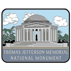 Thomas Jefferson Memorial National Monument Pin