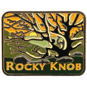 Rocky Knob, Blue Ridge Parkway Collectible Pin