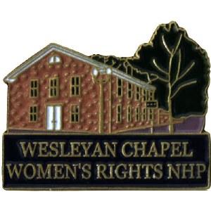 Wesleyan Chapel, Women's Rights NHP Pin