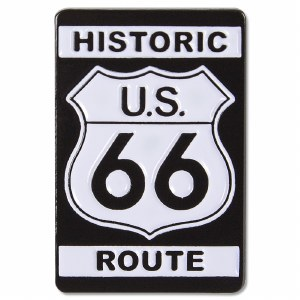 Historic US Route 66 Pin