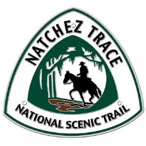 Natchez Trace National Scenic Trail Hiking Stick Medallion