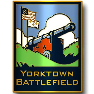 Yorktown Battlefield Hiking Stick Medallion