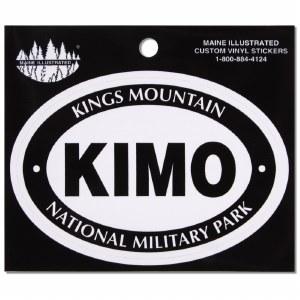 Kings Mountain National Military Park Vinyl Decal