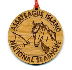 Assateague Island Wildlife Ornament