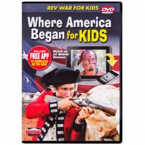 Where America Began for Kids DVD