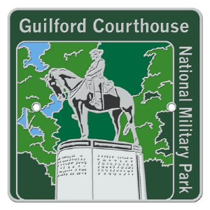 Guilford Courthouse Hiking Medallion