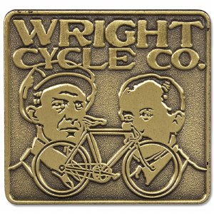 Wright Cycle Co Pin