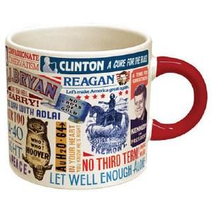 Presidential Campaign Slogan Mug