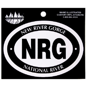 New River Gorge Decal