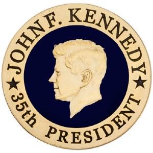 John F. Kennedy 35th President Magnet