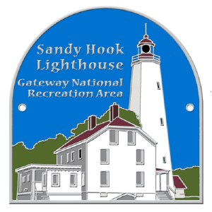 Sandy Hook Lighthouse Hiking Medallion