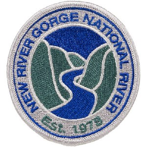 New River Gorge National River Embroidered Patch