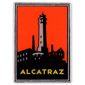 Alcatraz Island Collectible Pin