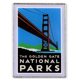 The Golden Gate Parks Collectible Pin
