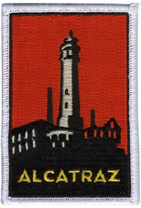 Alcatraz Island Iron-On Patch