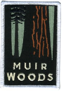 Muir Woods Iron-On Patch