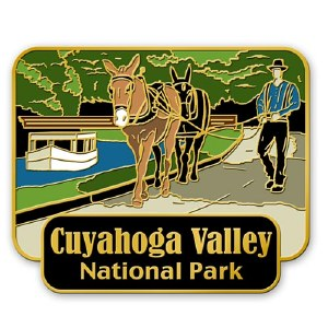 Cuyahoga Valley Canal Boat Pin