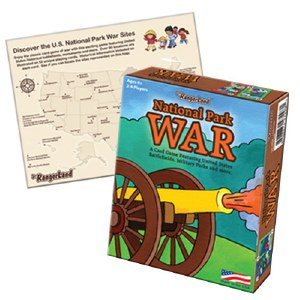 National Park War Card Game