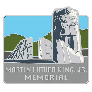 Martin Luther King, Jr. Memorial Lapel Pin