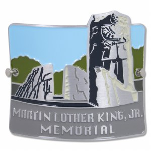 MLK Memorial Hiking Medallion