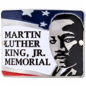 Martin Luther King Jr Hiking Medallion
