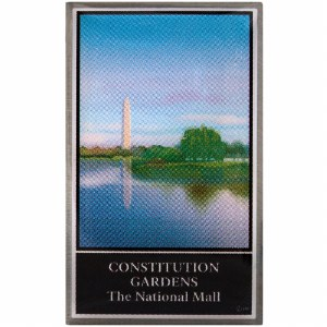 Constitution Gardens Pin